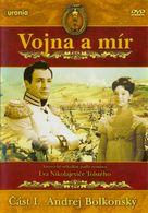 Voyna i mir I: Andrey Bolkonskiy - Czech DVD cover (xs thumbnail)