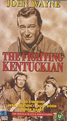 The Fighting Kentuckian - British VHS cover (xs thumbnail)