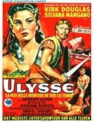 Ulisse - Belgian Movie Poster (xs thumbnail)