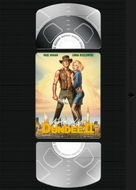 Crocodile Dundee II - Czech VHS movie cover (xs thumbnail)