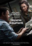 The Post - Latvian Movie Poster (xs thumbnail)