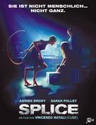Splice - Swiss Movie Poster (xs thumbnail)