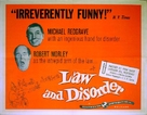Law and Disorder - Movie Poster (xs thumbnail)
