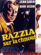 Razzia sur la Chnouf - Belgian Movie Poster (xs thumbnail)