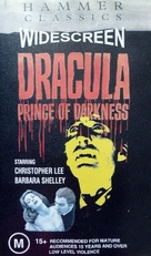 Dracula: Prince of Darkness - Australian VHS movie cover (xs thumbnail)