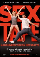 Sex Tape - Finnish Movie Poster (xs thumbnail)