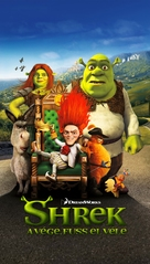 Shrek Forever After - Hungarian Movie Poster (xs thumbnail)