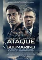 Hunter Killer - Chilean Movie Poster (xs thumbnail)