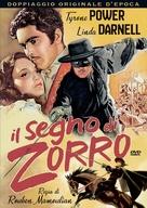 The Mark of Zorro - Italian DVD movie cover (xs thumbnail)