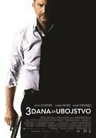 3 Days to Kill - Croatian Movie Poster (xs thumbnail)