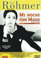 Ma nuit chez Maud - Spanish DVD cover (xs thumbnail)