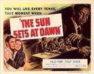 The Sun Sets at Dawn - Movie Poster (xs thumbnail)