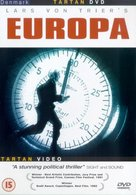 Europa - British DVD movie cover (xs thumbnail)