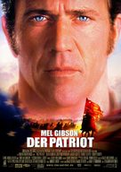 The Patriot - German Theatrical movie poster (xs thumbnail)