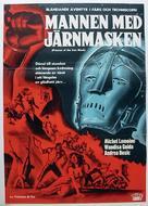 La vendetta della maschera di ferro - Swedish Movie Poster (xs thumbnail)