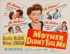 Mother Didn't Tell Me - Movie Poster (xs thumbnail)
