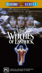 The Witches of Eastwick - Australian VHS cover (xs thumbnail)