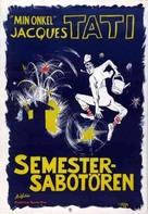 Les vacances de Monsieur Hulot - Swedish Movie Poster (xs thumbnail)