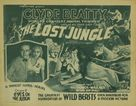 The Lost Jungle - Movie Poster (xs thumbnail)
