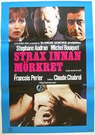 Juste avant la nuit - Swedish Movie Poster (xs thumbnail)
