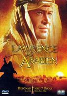 Lawrence of Arabia - Swedish DVD cover (xs thumbnail)