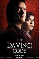 The Da Vinci Code - Luxembourg Movie Poster (xs thumbnail)