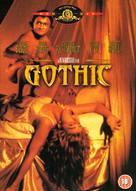Gothic - British Movie Cover (xs thumbnail)