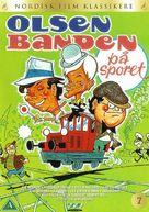 Olsen-banden på sporet - Danish DVD cover (xs thumbnail)