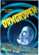 The Snake Pit - Swedish Movie Poster (xs thumbnail)