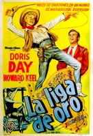 Calamity Jane - Argentinian Movie Poster (xs thumbnail)