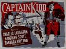 Captain Kidd - British Movie Poster (xs thumbnail)