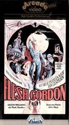 Flesh Gordon - German VHS cover (xs thumbnail)