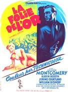 Cripple Creek - French Movie Poster (xs thumbnail)