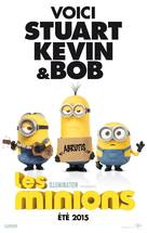 Minions - French Movie Poster (xs thumbnail)
