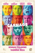 Carnage - Danish Movie Poster (xs thumbnail)