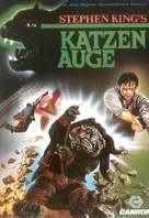 Cat's Eye - German VHS movie cover (xs thumbnail)