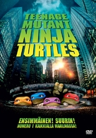 Teenage Mutant Ninja Turtles - Finnish DVD movie cover (xs thumbnail)