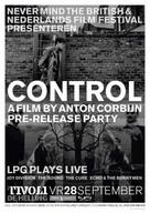 Control - Dutch Movie Poster (xs thumbnail)