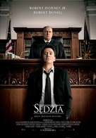 The Judge - Polish Movie Poster (xs thumbnail)