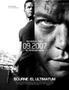 The Bourne Ultimatum - Mexican poster (xs thumbnail)