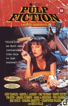 Pulp Fiction - British VHS movie cover (xs thumbnail)