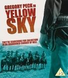 Yellow Sky - British Blu-Ray movie cover (xs thumbnail)