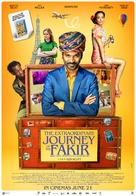 The Extraordinary Journey of the Fakir - Indian Movie Poster (xs thumbnail)