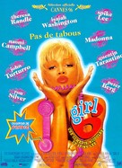 Girl 6 - French Movie Poster (xs thumbnail)