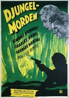 La mort en ce jardin - Swedish Movie Poster (xs thumbnail)