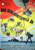 Mysterious Island - Swedish Movie Poster (xs thumbnail)