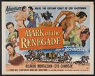 The Mark of the Renegade - Movie Poster (xs thumbnail)