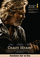 Crazy Heart - German Movie Poster (xs thumbnail)