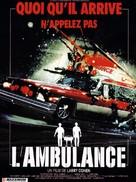 The Ambulance - French Movie Poster (xs thumbnail)