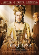 The Duchess - Spanish Movie Poster (xs thumbnail)